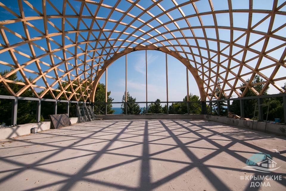 Большепролетные деревянные конструкции